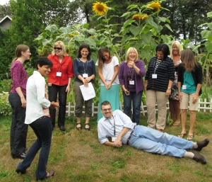 Funny staff photo